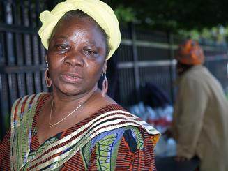Liberian Auntie Street Vendor